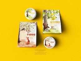 【徽小生·花果茶】茶包装 by 澜帝品牌设计