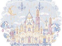 lolita-独角兽城堡(四色)