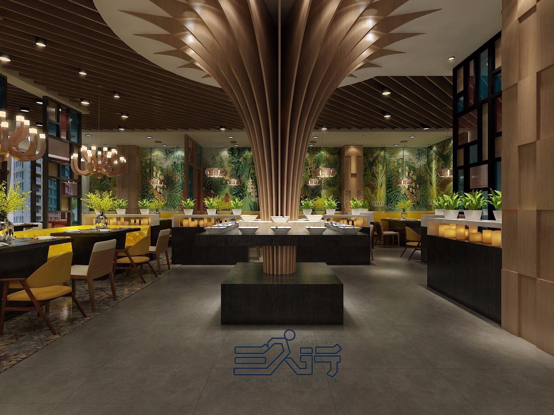 火锅店餐饮空间室内设计矿泉水包装设计优缺点图片