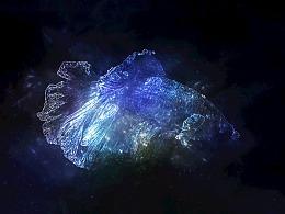 银河梦幻星空孔雀鱼