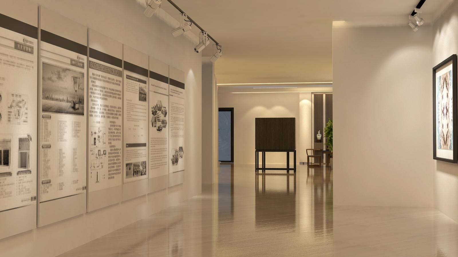 展馆展厅设计效果图