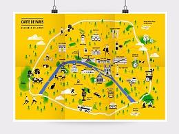 巴黎地图/CARTE DE PARIS