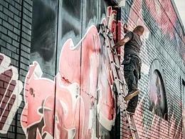 涂鸦艺术家与清洁工两者眼中的自己