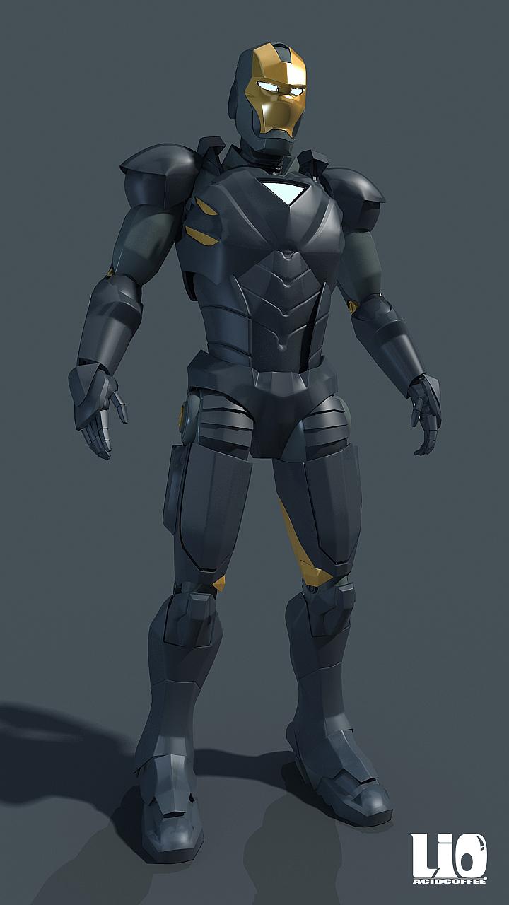 钢铁侠装甲设计图片