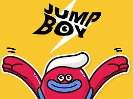 JUMP BOY 运动风形象设计