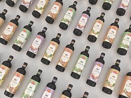 海天特级系列酱油风格设计