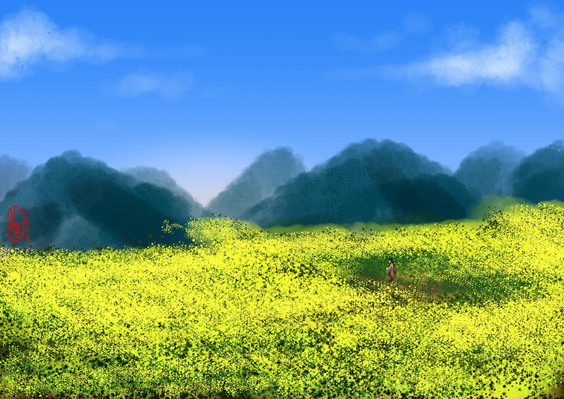 风景场景练习(临摹&原创)(绘制时间:2012年6月~8月)