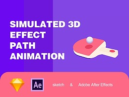 Simulated 3D AE-path animation 第2季