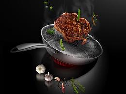 米纳亚不锈钢锅子详情页设计/电商设计