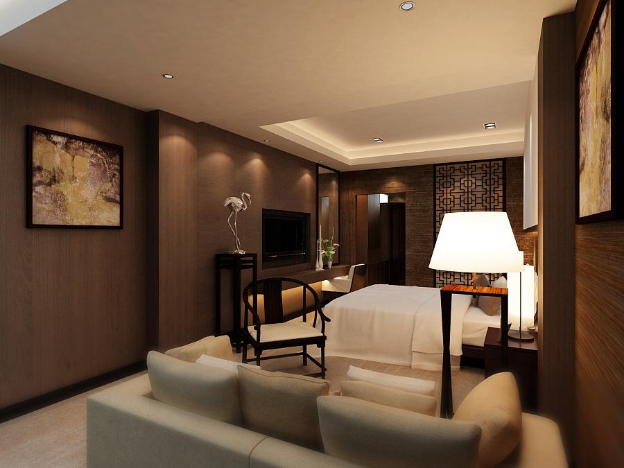 新中式会所包间设计|室内设计|空间|大师2013 - 原创