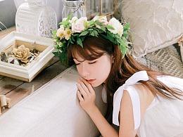 「花与少女」