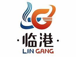 临港logo