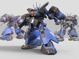 扎古III-RAMS-1100L1N[剑装]
