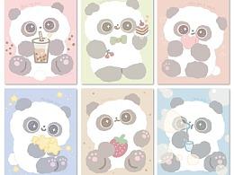 熊猫软团子