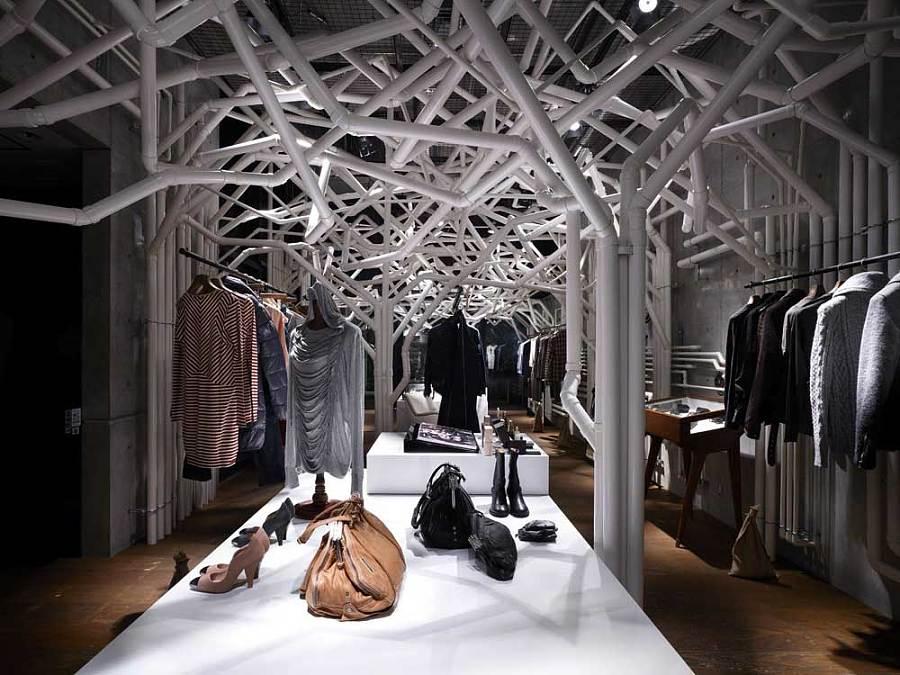 个性服装店装修设计效果欣赏|室内设计|空间/建筑