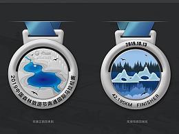 2019中国森林旅游节+南通国际马拉松赛奖牌设计方案