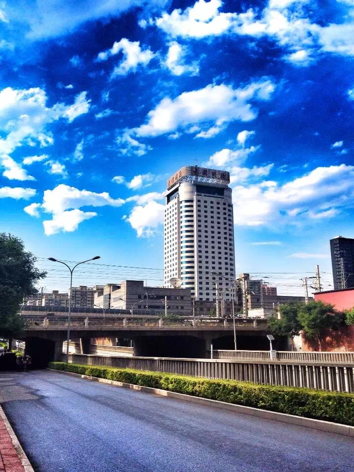 北京蓝天记录 一 纪实 新闻 摄影 randy7107 原 高清图片