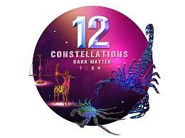 12 constellations  |  十二星座 · 镂空的艺术