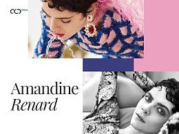 Amandine Renard Concept person website