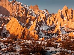 新疆红山石林