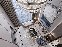现代别墅空间表现