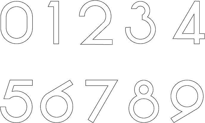 仿小米桌面字体数字