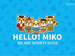 HELLO!MIKO 卡通插画品牌提案
