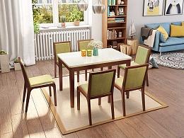 北欧风格餐桌  餐桌设计