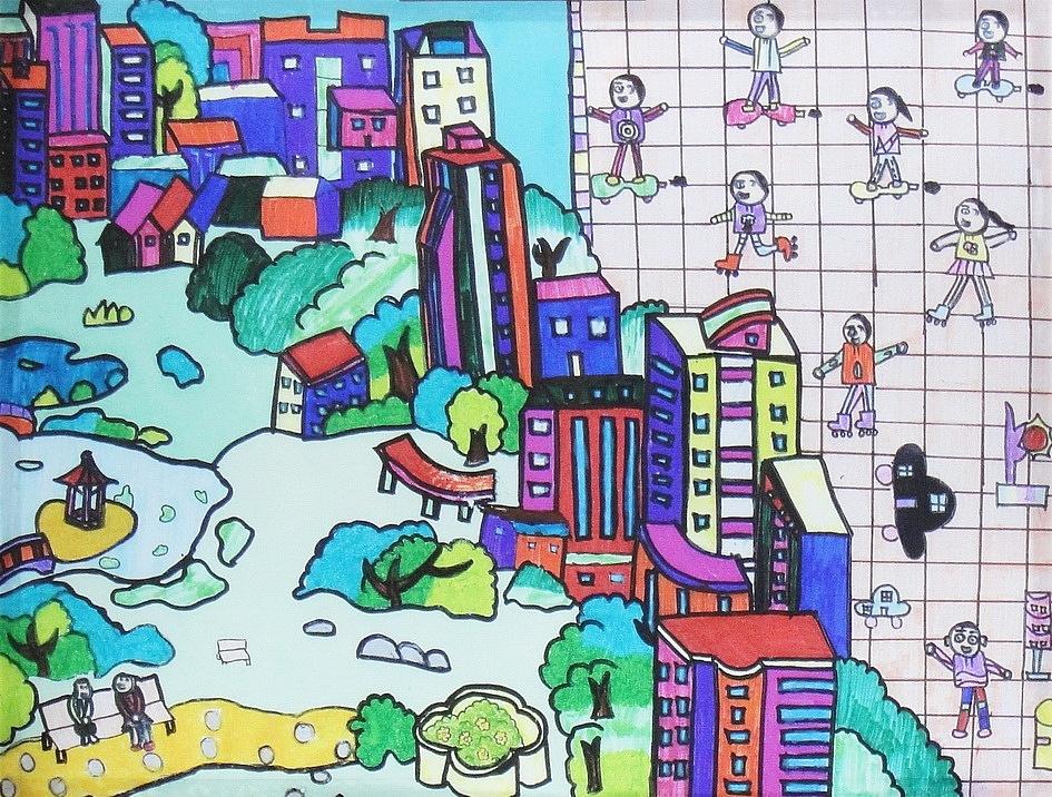 2010上海世博会中国馆儿童画4图片