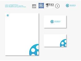 调色盘影视logo