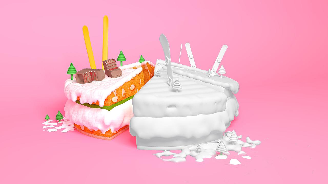 父亲生日蛋糕图片大全