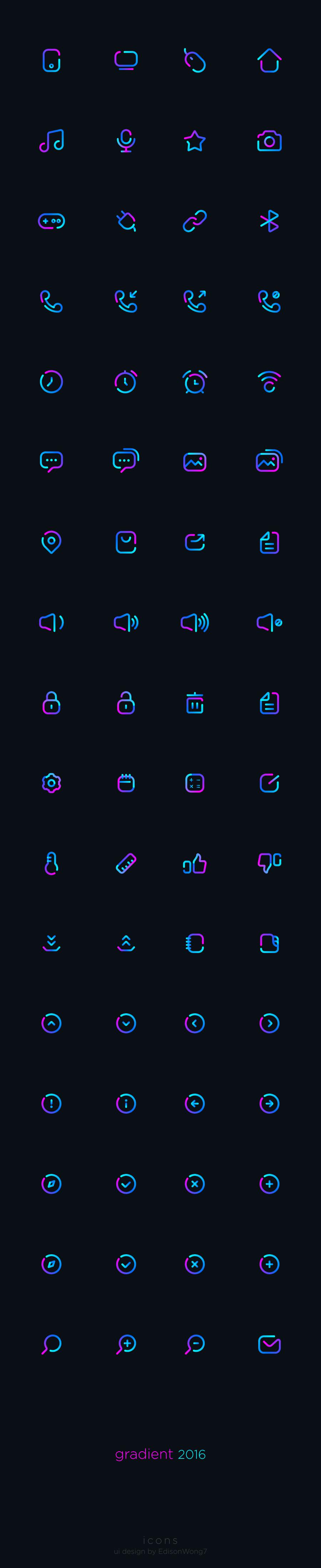 查看《gradient.icons2016》原图,原图尺寸:900x4393