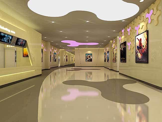 成都电影院v天花成都天花装修设计中式影院装修效果图图片