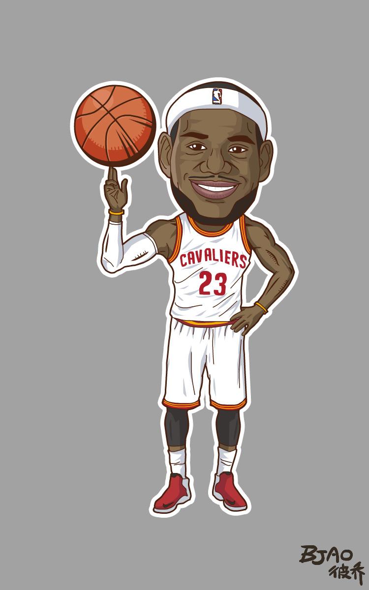 NBAplayzone肖像卡通造型|漫画面人|动漫|bja漫画无恐怖球星图片