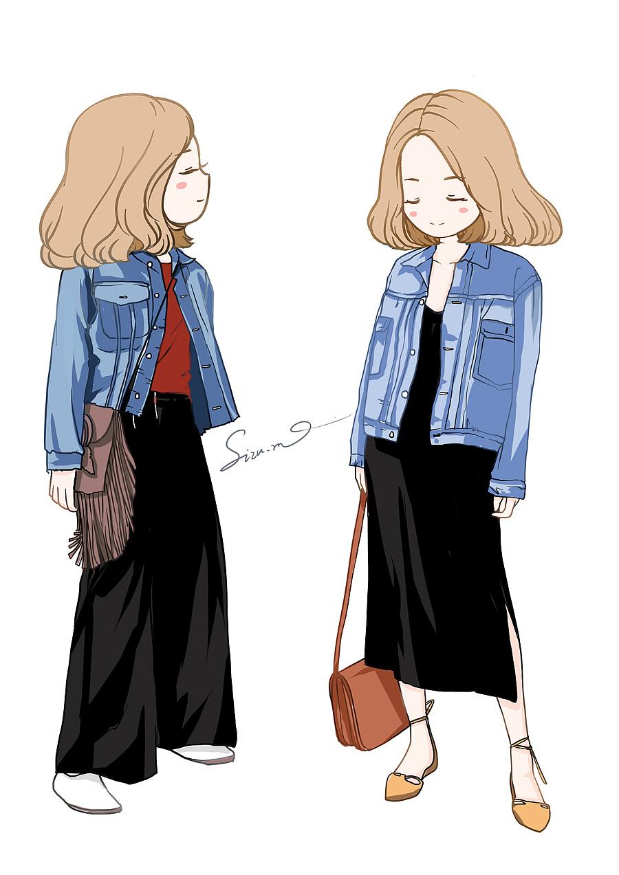 卡通人物服装穿搭