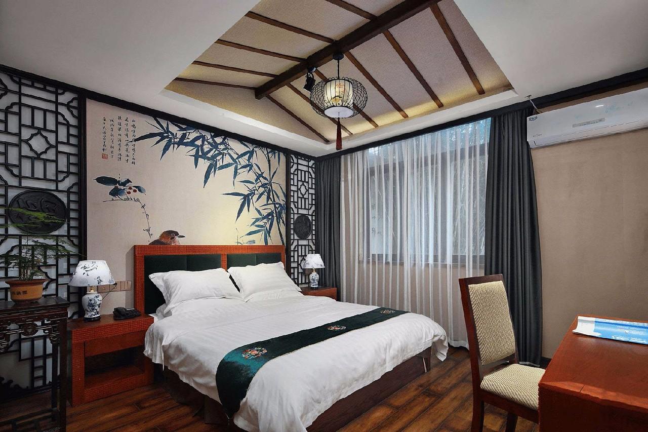 西安民宿装修设计|闹中取静的一家古朴的民宿客栈设计图片