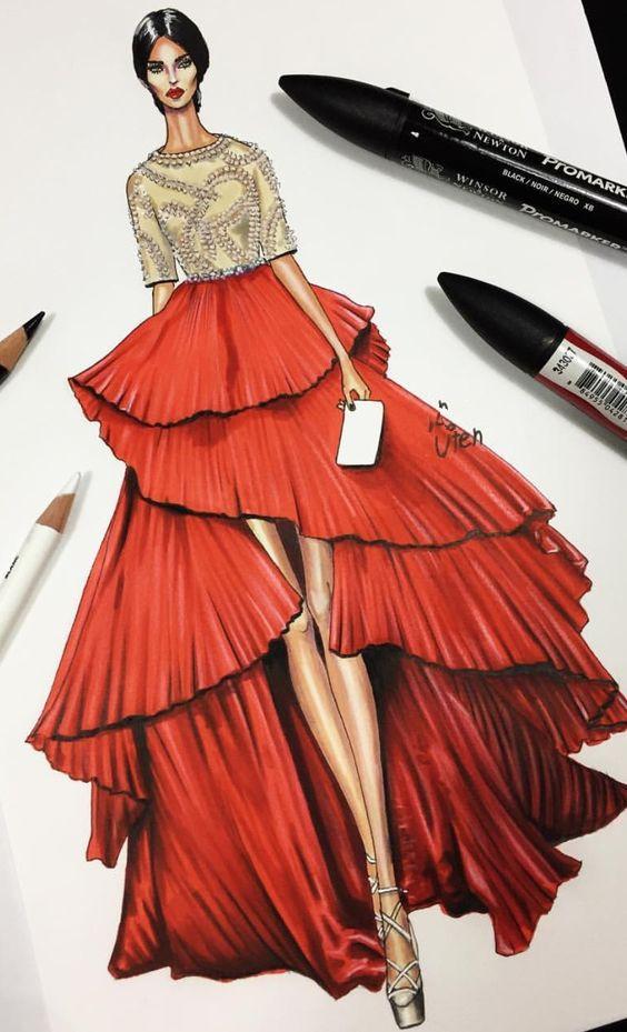 米兰服装设计图 图片合集