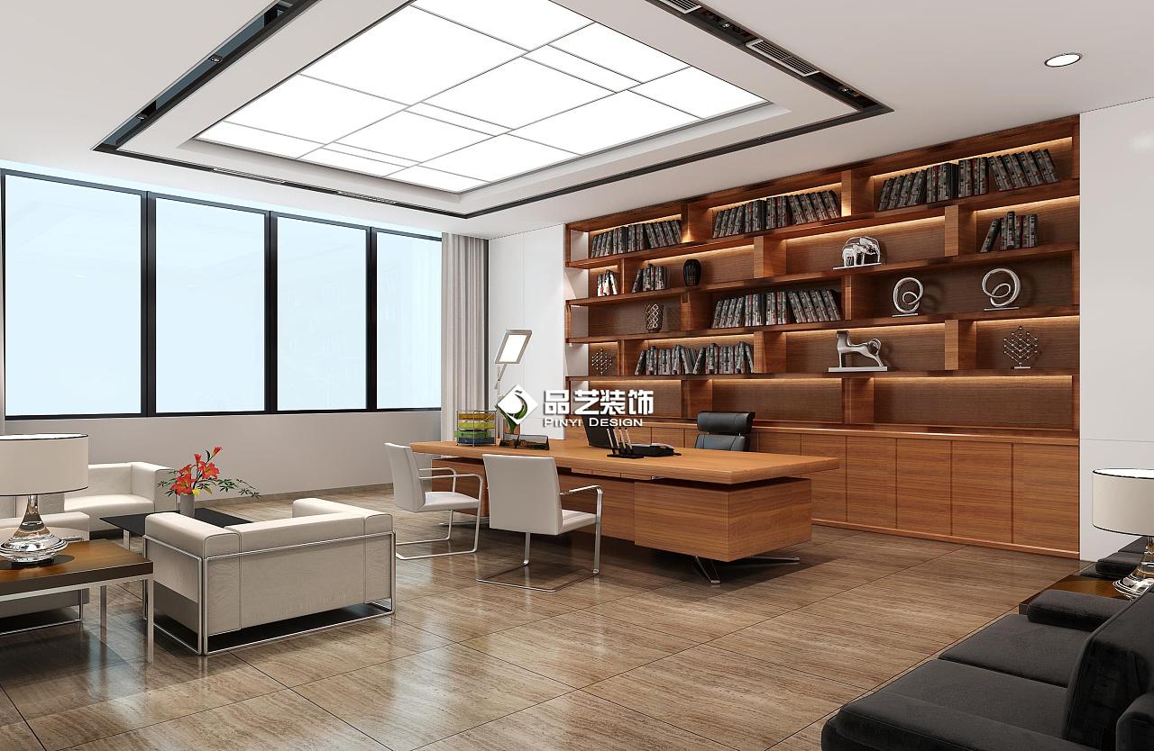 创客资质简约写字楼办公室装修设计|空间|室内设计|品医院装修设计需要什么空间图片