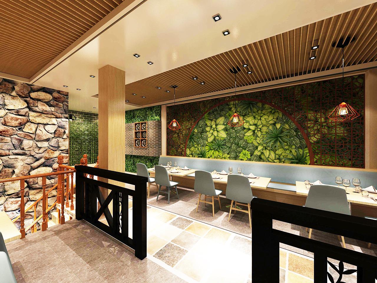 中式快餐店图片