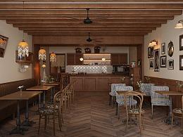哈喽设计 | 广州普罗咖啡餐饮空间设计