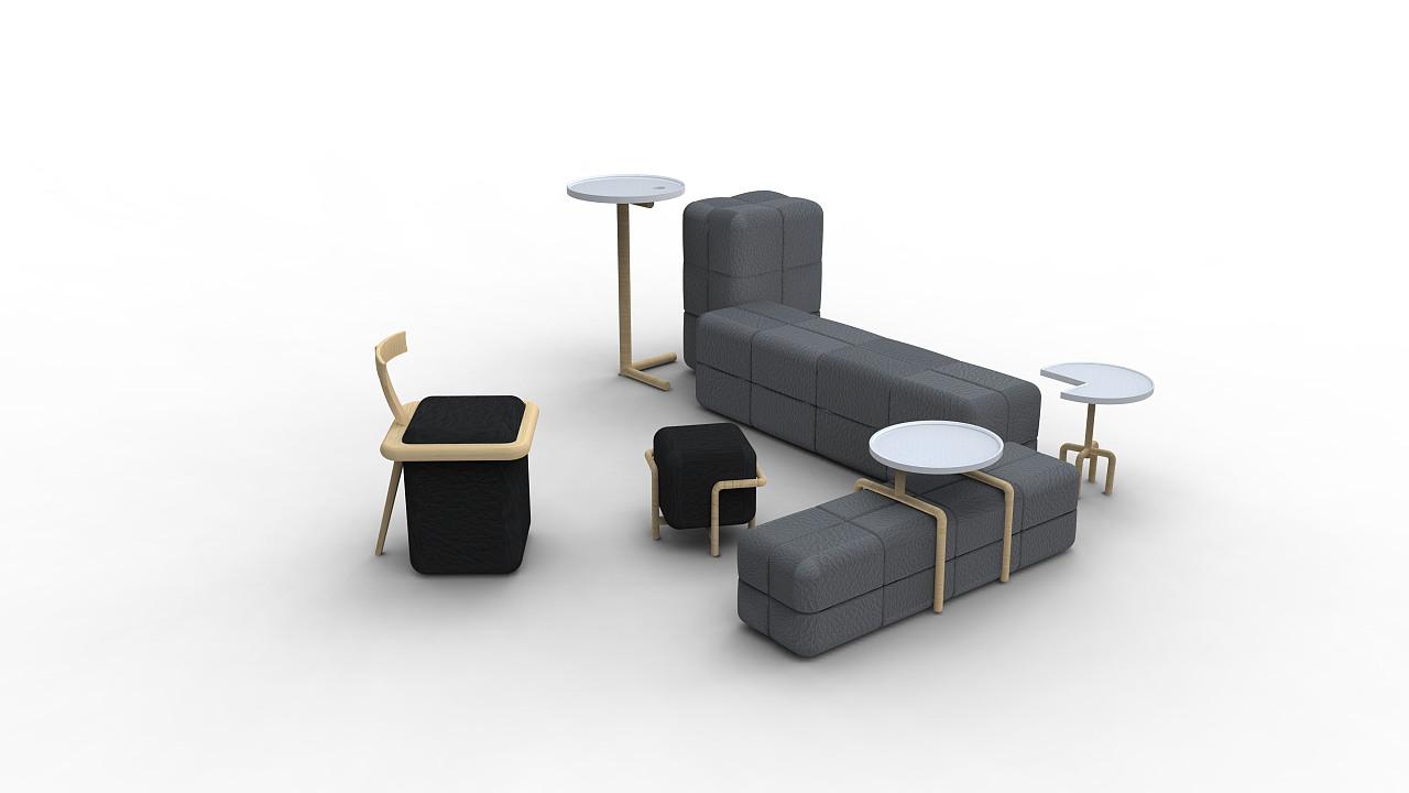 家具毕业设计|工业/产品|家具|justsugar - 原创作品图片