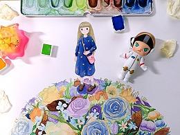 少女和花花3
