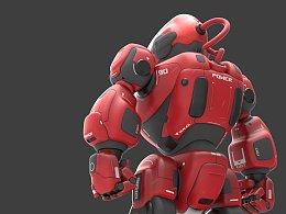 KFGZ[玩具设计]KNOX智能玩具机器人概念设计