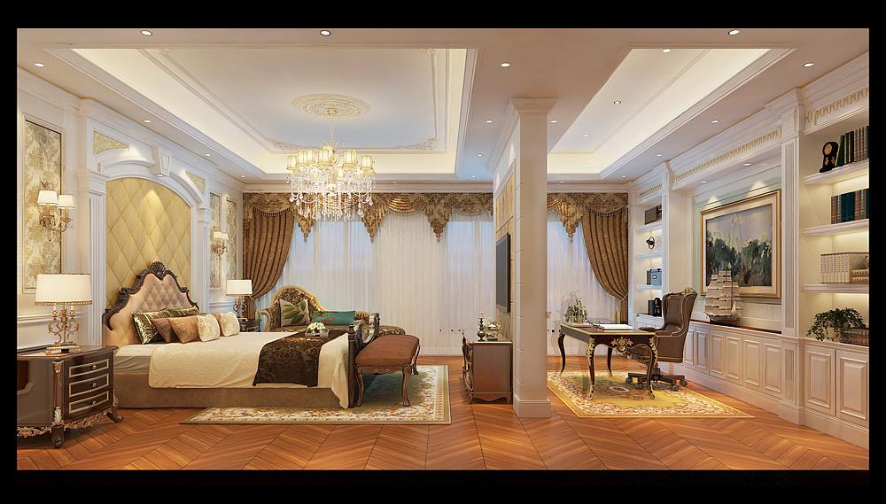 乔治别墅空间|庄园|室内设计|合肥卓域设计-原机械设计学项目设计图片