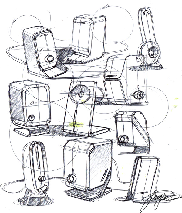 个人手绘 电子产品 工业/产品 燃烧冰雪 - 原创设计