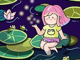 萤火虫的夏天