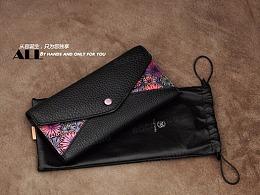 时尚臻品系列皮雕信封包款式一
