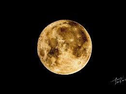 彩铅插画—月亮