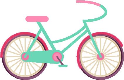 手绘自行车|平面|图案|julietsun - 原创作品 - 站酷