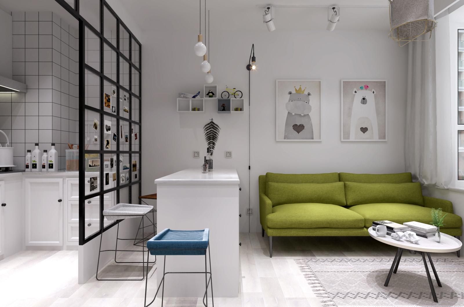 40平米的单身公寓